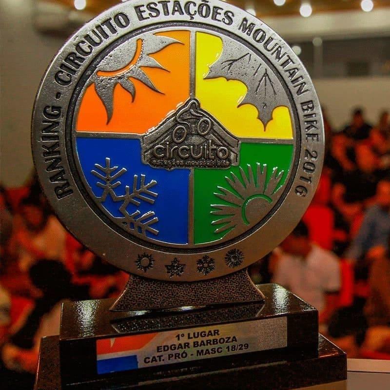 Premiação Ranking Circuito Estações Mountain Bike 2016