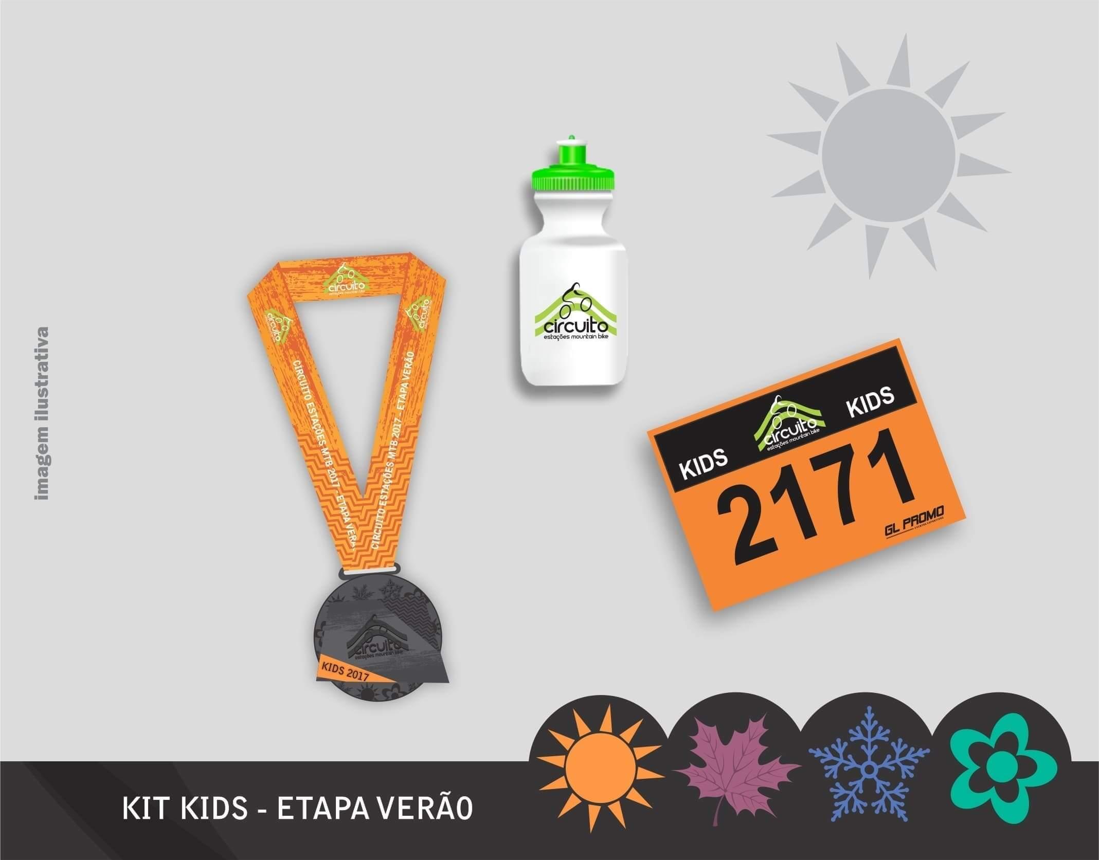 Kits Circuito Estações Mountain Bike - etapa verão